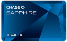 The Chase Sapphire Credit Card