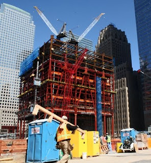 One World Trade Center, Under Construction