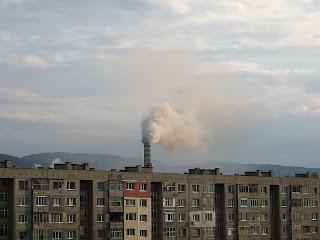 замърсяване,тец
