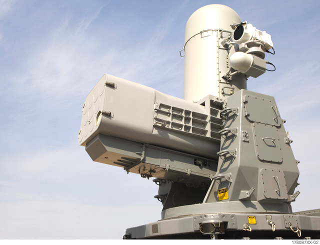 Raytheon S Mobile Land Based Phalanx Weapon System