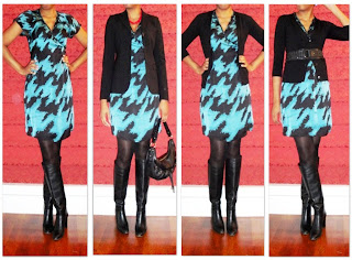 A Versatile Silk Wrap Dress