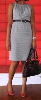 Splurge-worthy Sheath Dress
