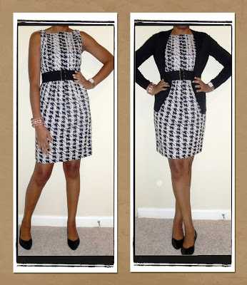Back to Work in a Bold Houndstooth Print