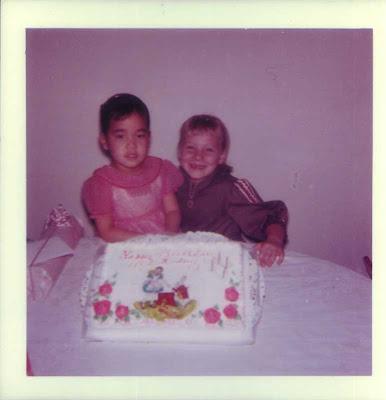 Audrey's Birthday - circa 1960s