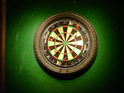 A King's Head Dartboard