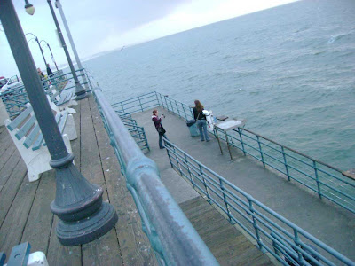The End of the Santa Monica Pier