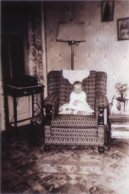 Baby in a Chair - 1948