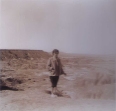 Del at the Painted Desert - 1955