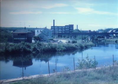 Two Views From River Street - Woonsocket 1985