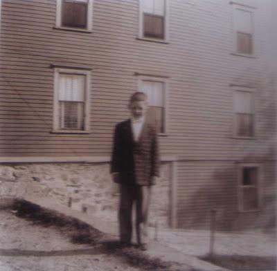 Cousin Bobbie at Vose St. - 1955