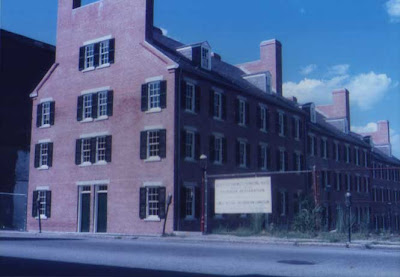Mill being converted 1985
