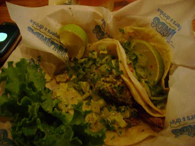 three pork soft tacos