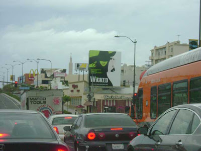Santa Monica and Beverly Glen Blvds