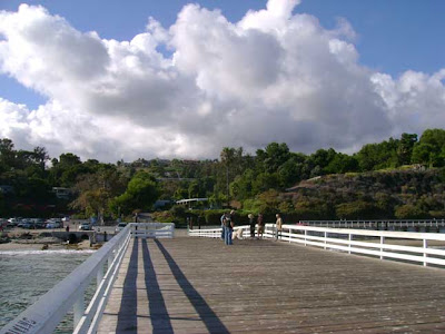 Clouds Over Paradise Cove Pier