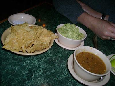 chips, guac, salsa