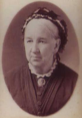 Elderly Woman with Brooch - CDV