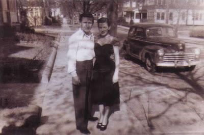 Louis and Doralice, circa April 1948