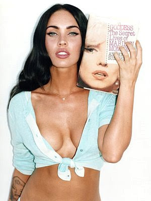 Megan Fox's Tattoos Posted by proctilmahy at 1205 AM