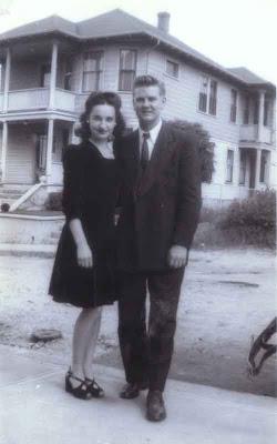 Godmother Jeanne & Friend - 1942