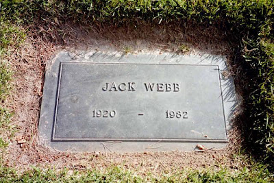 Jack Webb at Forest Lawn Hollywood Hills