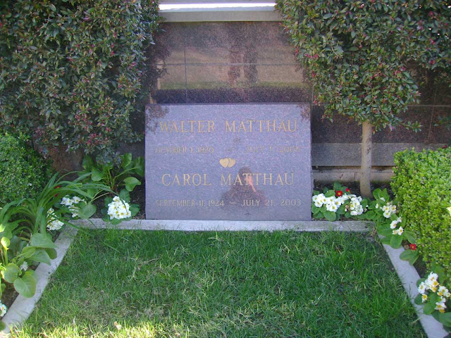 Walter Matthau - Westwood Cemetery