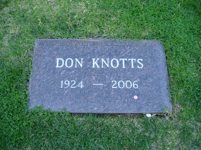 Don Knotts - Westwood Cemtery