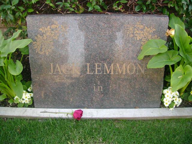 Jack Lemmon - Westwood Cemetery