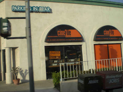 Cinefile on Sawtelle and SM Blvd.- West L.A.