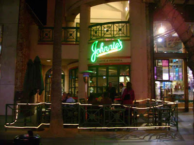 Johnnie's on the Santa Monica Promenade at Night