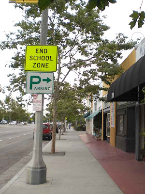 End School Zone - Venice