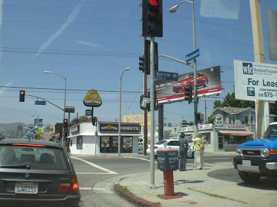 Melrose & Vine/Rossmore - Hollywood