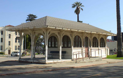 Old Trolley Stop at the Veteran's Administration - Sawtelle