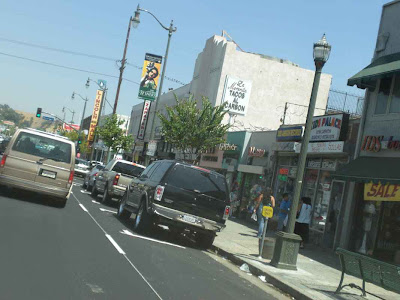 Driving East on North Broadway - Lincoln Heights