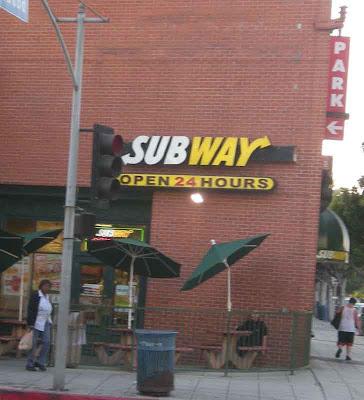 Subway - Westwood