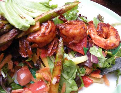 Shrimp Salad - Kay 'N Dave's Fresh Mex Cantina