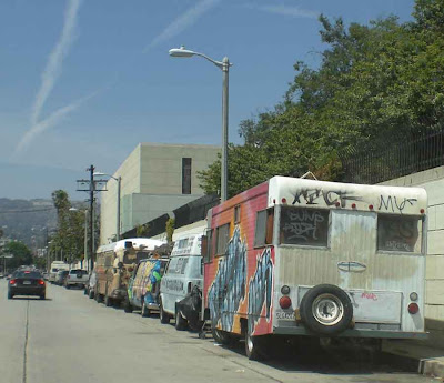 The Annual Gower Street Vehicle Art Faire