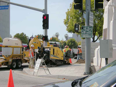 City Repairs at Veteran and Wilshire - Westwood