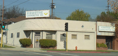 Airmotive Carburetor - Burbank