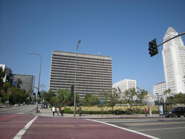 original location of LA Times