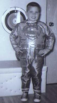 Brian as Superman