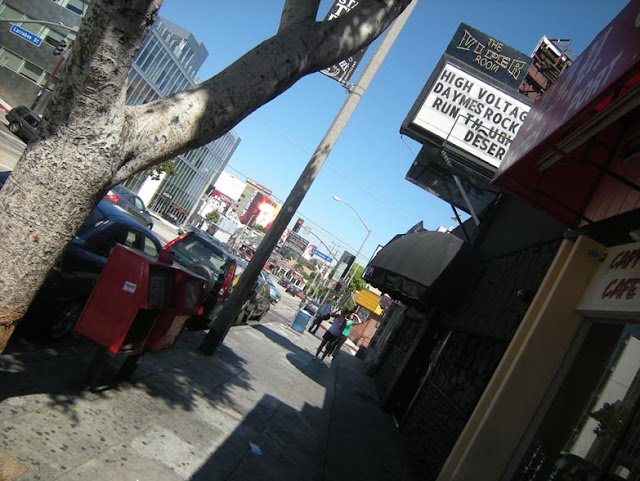Viper Room Sunset Sidewalk