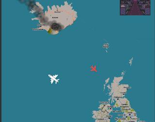 gioco, vulcano, islandese