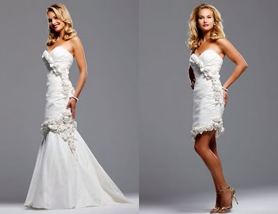 Dresses Wear Wedding on Be In Love Designs  Convertible Wedding Dresses