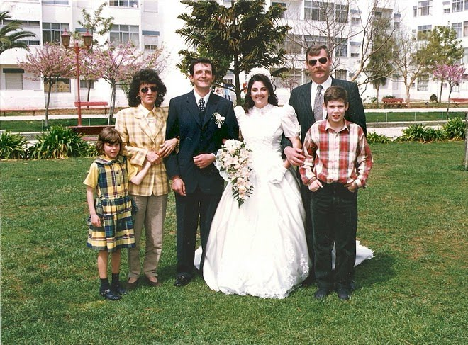O casamento do Nelson e Célia - o meu sobrinho mais velho -