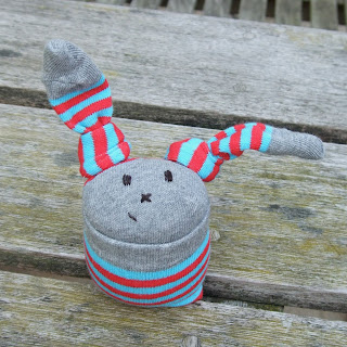 lavender filled sock bunny rabbit