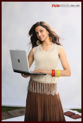 Deepika Padukone BSNL Photo shoot