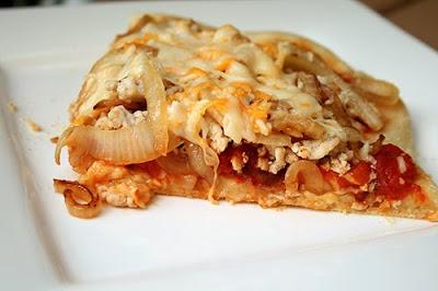 Bacon Cheeseburger Pizza - Healthy recipes