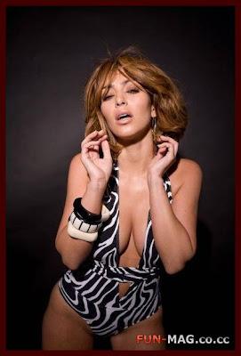 Kim Kardashian Blonde Color Makeover Photo Shoot