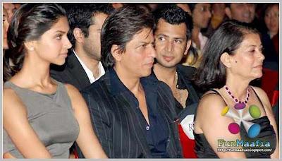 Deepika Padukone - Shahrukh khan