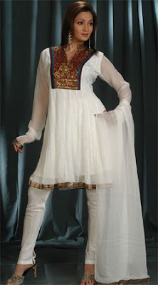 Latest Churidar Designs of 2011, White Churidaar 2011 Catalogue churidar salwar